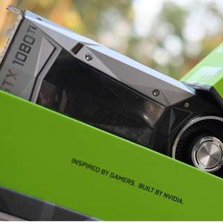 Rare!! NVidia Founders Edition 1080TI Brand New in Box