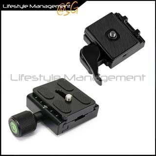 DSLR Camera Quick Release Plate Mount (Tripod/Monopod) Adapter