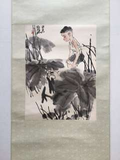 画家卢沉 Chinese painting