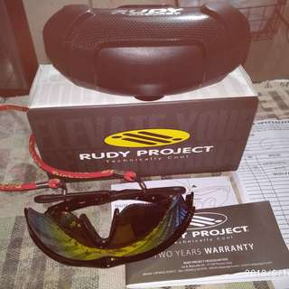 Authentic Genuine Rudy Project Tralyx Sports Black Sunglasses