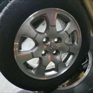 Toyota Ori Rims & Tyres