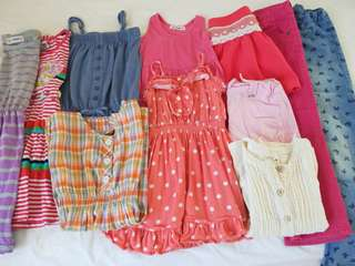 $25 for 11 pieces of clothes for 4-5 YO girl
