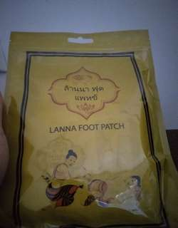 Lanna foot patch