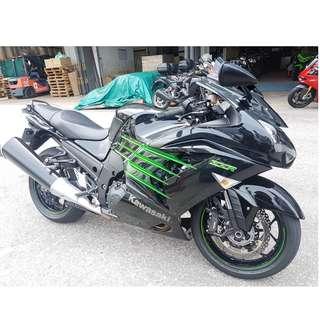 13 Kawasaki ZZR1400 ZX14 (Jul 2013)