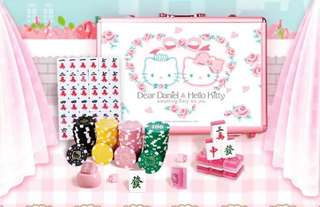 Hello kitty mahjong full set as per picture ( no animal )
