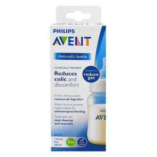 🚚 Philips Avent, Anti-Colic Bottle, 1 + Months, 1 Bottle, 9 oz (260 ml)