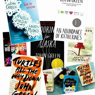 John Green COMPLETE Ebook Bundle