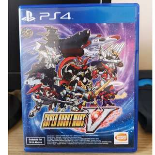 SUPER ROBOT WAR V (PS4)