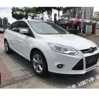 2014年 FOCUS 1.6L 台幣3500元交車 輕鬆月付3888起