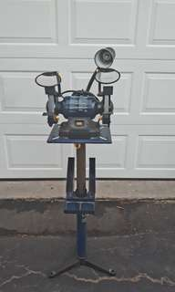"""Mastercraft 6"""" Bench Grinder with stand"""