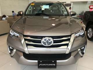Toyota Fortuner 2.4 4X2 G DSL AT 2017