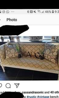 Refurbished bench
