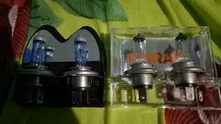 Osram Nightbreaker and Stock Headlight Bulb H4