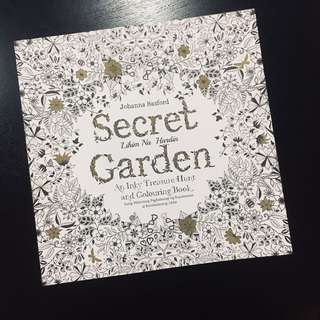 Coloring book; Secret Garden