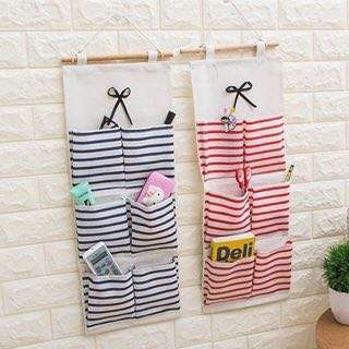 Cotton and linen storage bag