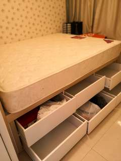 Beds and Shoe Cabinet