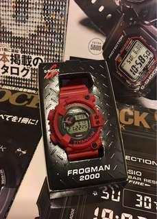 日本版G-Shock FROGMAN 赤蛙