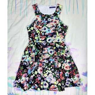 BNWT Kitschen Floral Flare Dress#mcsfashion
