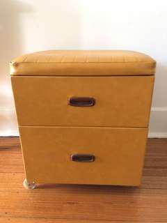 Vintage vinyl drawers