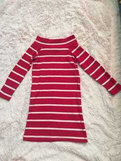 EUC knitted Dress 2T set 2pcs