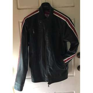 Leather Look Sports Jacket