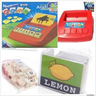 [Educational Game] Literacy Fun Game