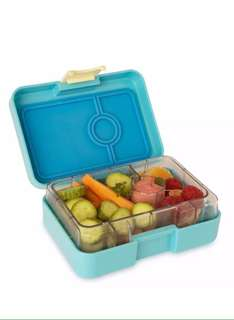 Yumbox MiniSnack - 3 compartments Bento-style leakproof lunchbox Cannes Blue