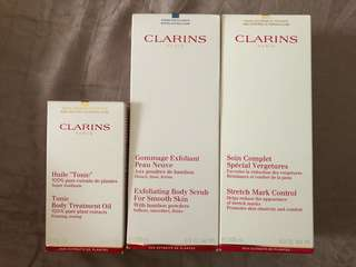 Clarins body set for new Mummies