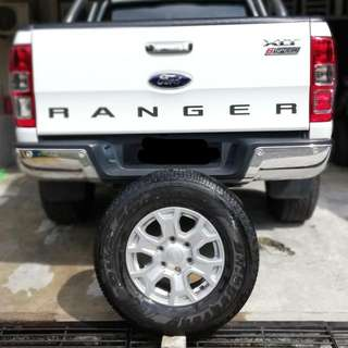 Sport Rim Ford Ranger T7 (Ori Kilang)