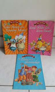 See and read (set of 3 books)