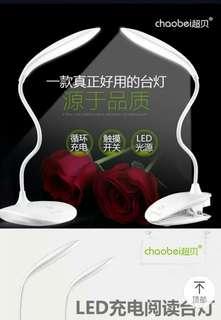 LED charging reading desk lamp