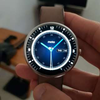 Jual Smartwatch Moto 360 1st Gen Second