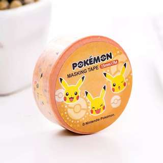 Pikachu Washi Tape