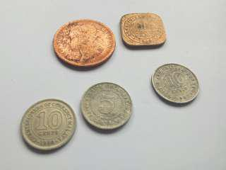 British old coins (syiling lama)