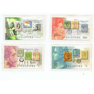 2004 - 04  Mint Stamps - A 150 Years Stamp Journey