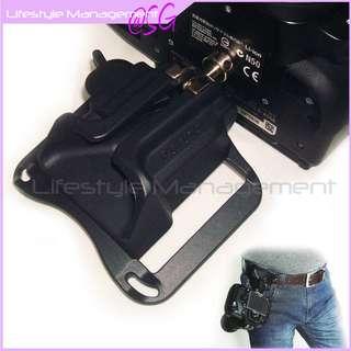 DSLR Camera Holster Waist Belt Buckle Camera
