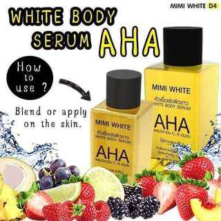 AHA Mimi White Body Serum 30ml