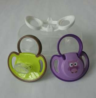 💕 Puting Baby Orthodontic Soother