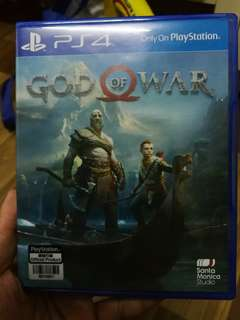 PS4 God of War 4 for swap