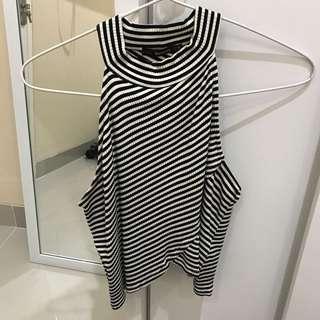 Bershka stripes top