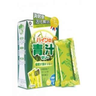 JOY IN 大麥若葉青汁健腸啫喱 10入