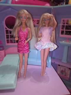 Doctor Barbie and Roller Blading Barbie