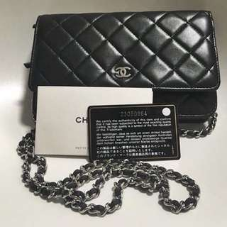 Chanel Lambskin Quilted WOC