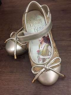 Beauty and the Beast children shoe