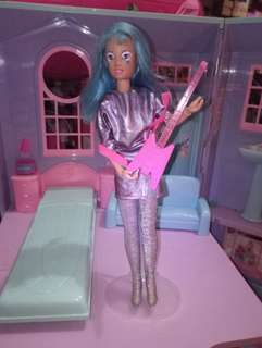 Asha Doll from Jem Rockband barbie size