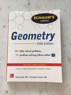 Schaum's Geometry book