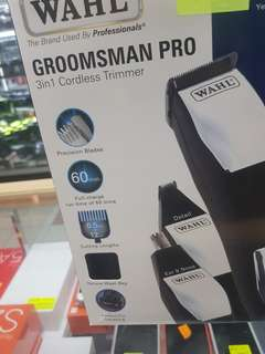 WTS: Wahl Groomsman Pro 3 in 1 Cordless Trimmer