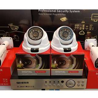 CCTV 4 CHANNELS WITH MONITOR AND 500 GB HDD STORE LOCATED AT TUTUBAN CENTER MALL