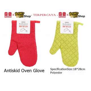 Japan Quality - Sarung tangan oven anti panas miniso import glove