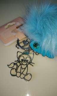 🚚 正版 香港迪士尼 畫家貓 精品娃娃/吊飾/鑰匙圈 做工精緻、限量
